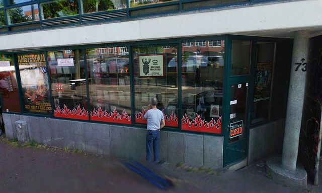 Hells Angels Amsterdam Support Retail Shop