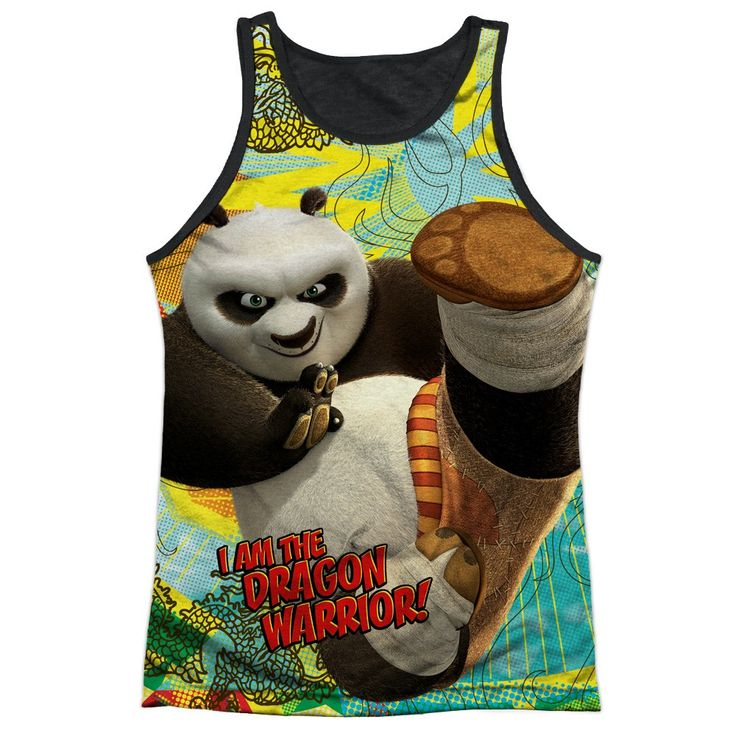 """Checkout our #LicensedGear products FREE SHIPPING + 10% OFF Coupon Code """"Official"""" Kung Fu Panda/dragon Warrior-adult Poly Tank Top T- Shirt - Kung Fu Panda/dragon Warrior-adult Poly Tank Top T- Shirt - Price: $24.99. Buy now at https://officiallylicensedgear.com/kung-fu-panda-dragon-warrior-adult-poly-tank-top-shirt-licensed"""