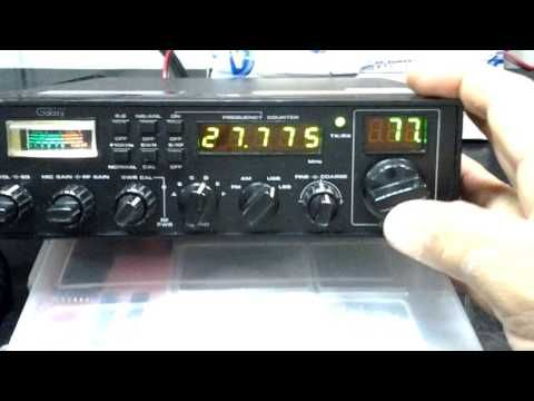 CB RADIO QSO GALAXY II - YouTube