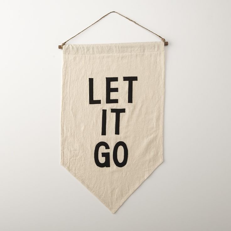 Art for everyday inspiration, this affirmation banner is a nod to the detailed handcrafts and textiles from the turn of the century. Artist Ashley Brown Durand crafted this Schoolhouse Electric exclusive from repurposed, soft cotton flour sacks. She carefully hand cuts each letter from 100% wool and hand stitches them using cotton thread. The natural off-white color and subtle fabric variations mean no two banners are alike. Durable twine and a hand-stained pine dowel finish off a timeless…