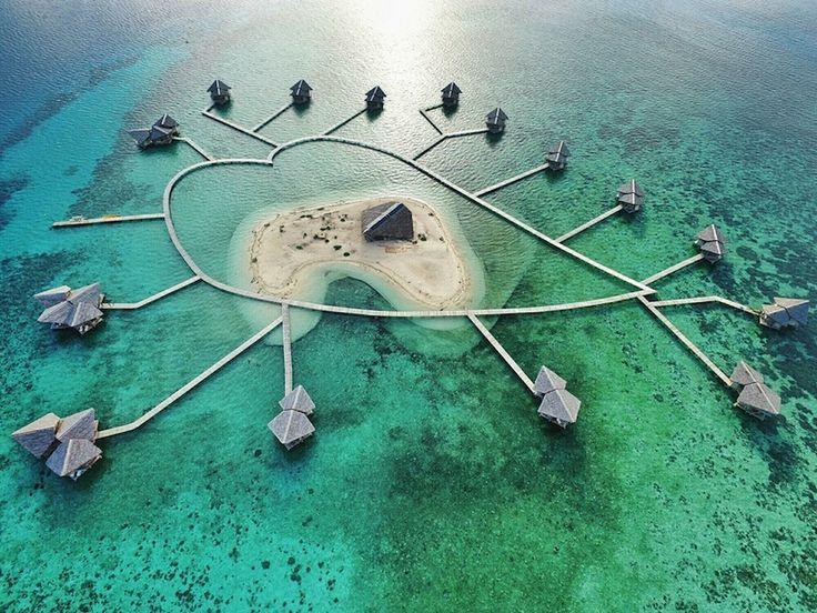 Wisata Pulo Cinta di Gorontalo Sulawesi Utara - nongsik