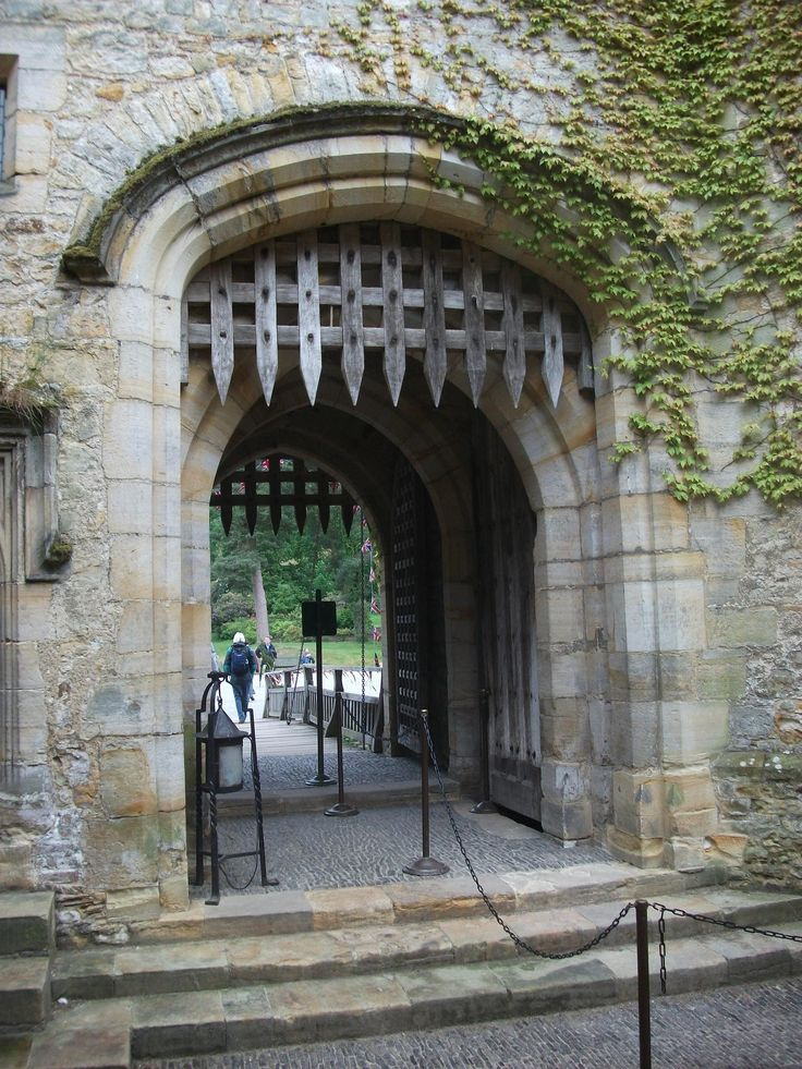 Portcullis. The portcullis and Gates at Hever Castle. Hever UK