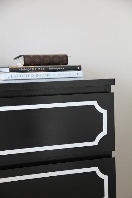 Posh Meets Pavement: Ikea Hack: Malm Dresser + O'verlays