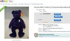 The most expensive/valuable Beanie Baby by far is a first-edition Princess Diana Beanie Baby. There are several on eBay, many listed in the ...