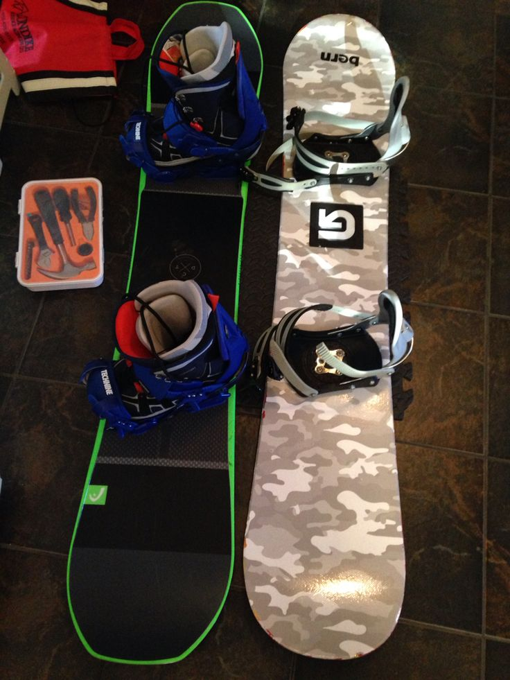 Two boards two styles #snowboarding