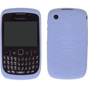 OEM BlackBerry Curve 8520, 8530, 9300, 9330 Curve 3G, Embossed Skin Case - Kandor Frost