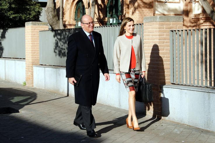 Queen Letizia attends her first FEDER Meeting of 2017