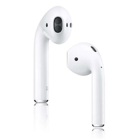 Apple AirPods In-Ear Wireless Headphones White - Front View
