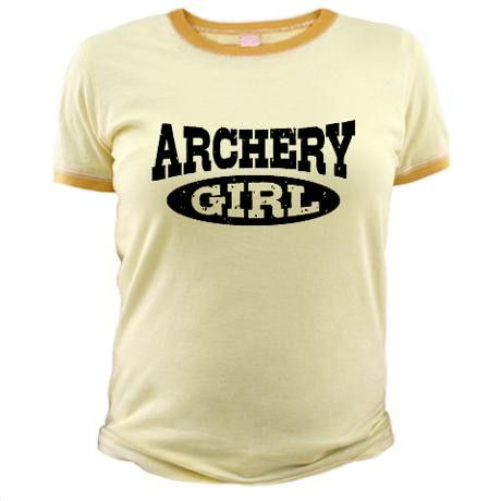 Archery Girl T-Shirt on www.amightygirl.com