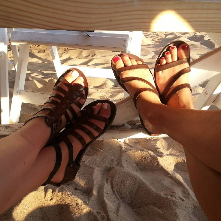 Let's relax today.. ☀   #sandals  #ippomare #handcrafted #genuineleather #genuine #Hellas #summer #friends #meetings #sunsandsea #relaxing #shoes #shoelover #shoeslovers #beachday