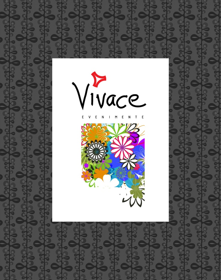 Vivace Events - logo design