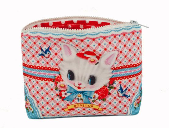 Super Meow Makeup Bag Kitten