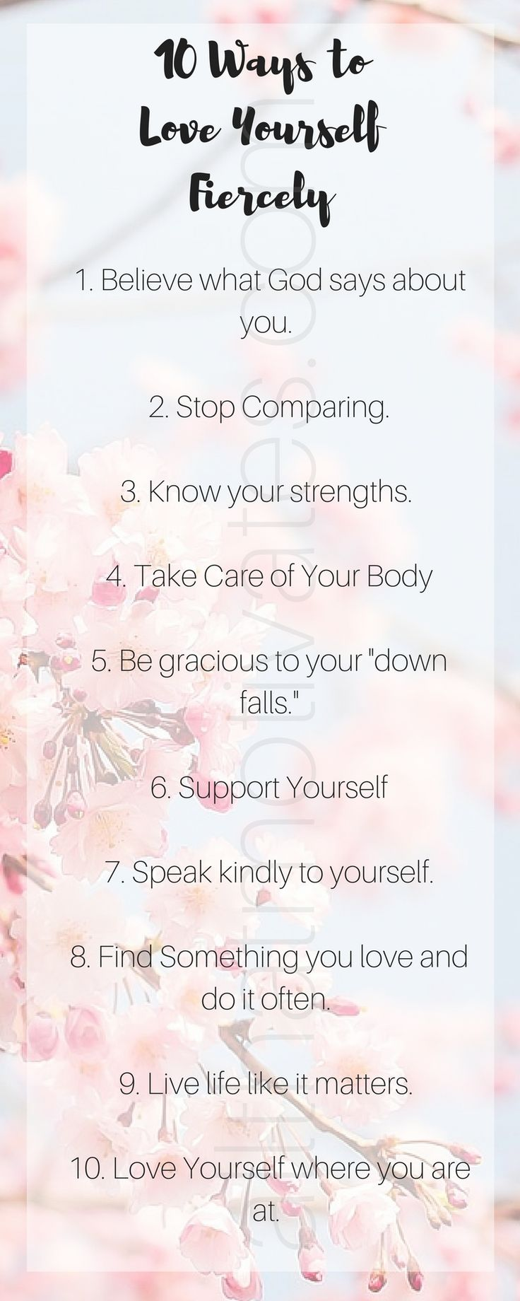 10 Ways to Love Yourself Fiercely #allthatmotivates http://wp.me/p4MPm4-zQ