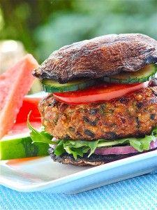 Mediterranean Turkey Burgers - Janet and Greta Podleski