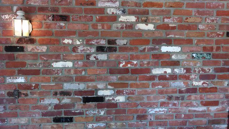 Multi Colored Antique Brick Wall Make Similar Brick
