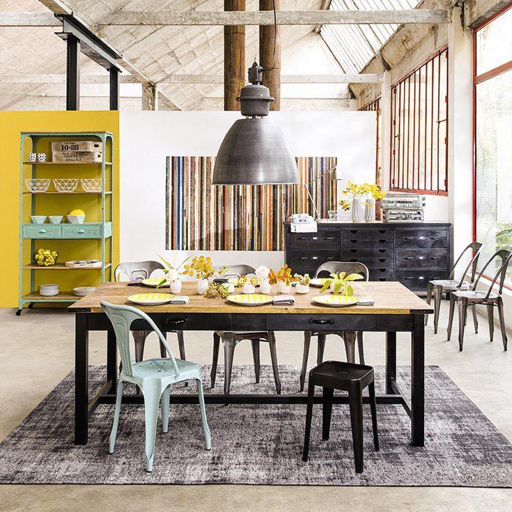 Oltre 25 fantastiche idee su arredamento chic industriale su pinterest stile industrial chic e - Mobili stile maison du monde ...