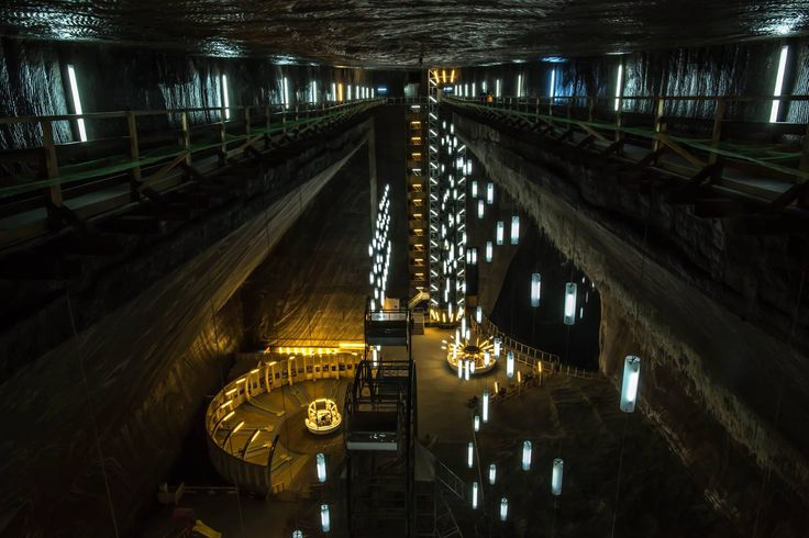 Salina Turda Mine (Salt Mine) - Romania