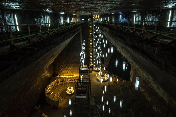 Salina Turda Mine (Salt Mine) - Romania