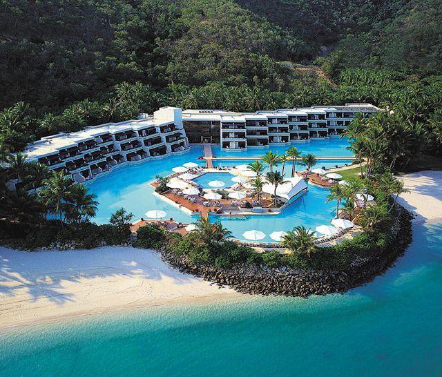 Hayman Resort on the Great Barrier Reef.
