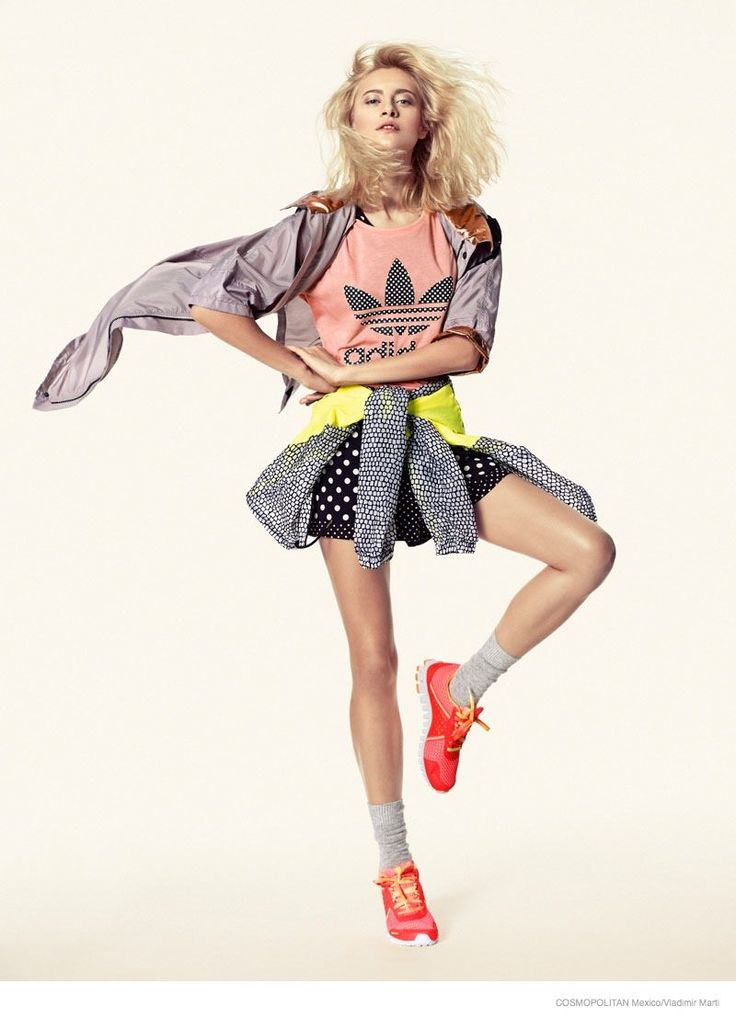 Nadia is Bold and Bright in an Editorial for Cosmopolitan Mexico #fall #fashion trendhunter.com