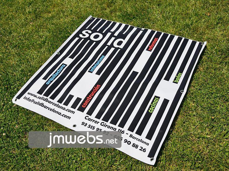 Lonas publicitarias impresas a todo color con diferentes tipos de gramaje y con impresión con calidad fotográfica. Precios en www.jmwebs.net o Teléfono 935160047