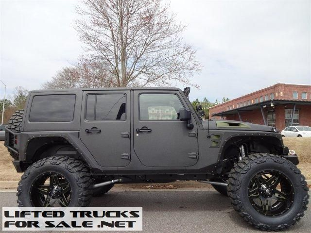 2015 Jeep Wrangler Unlimited Rubicon Custom Kevlar Coated Lifted