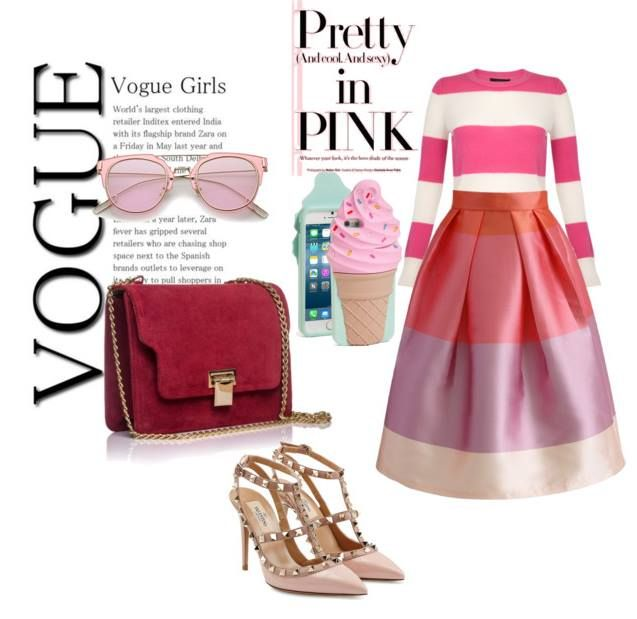 PRETTY IN PINK  #Inspiration for #GraceBag from #RENA