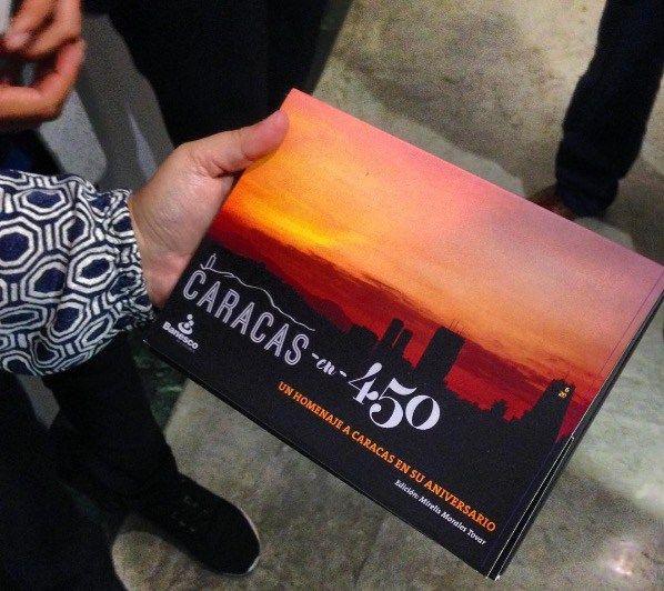 Caracas en 450: Bautizo del libro electrónico en Banesco