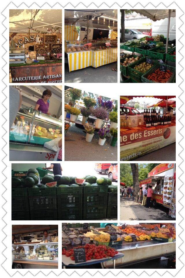 Open Market - Plaine de Plainpalais, Genève