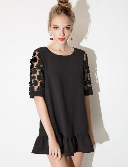 Daisy lace print sleeves   theglitterguide.com