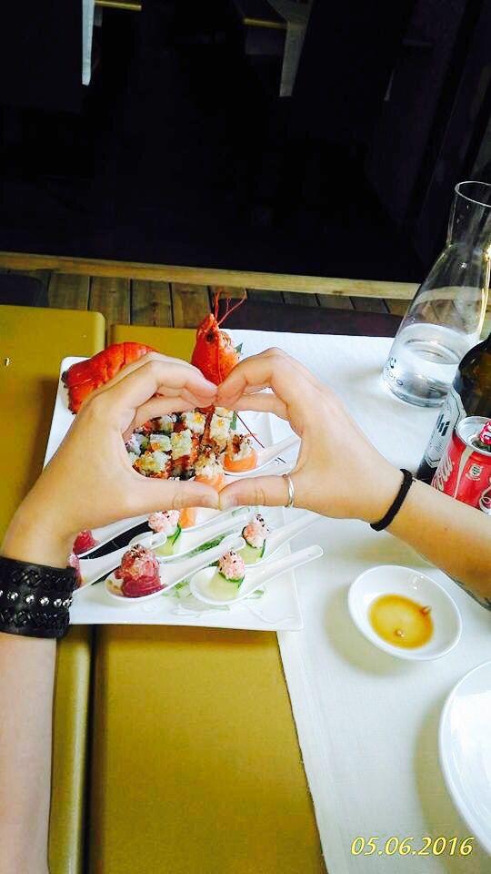 #KOKORO #SUSHI WITH #LOVE