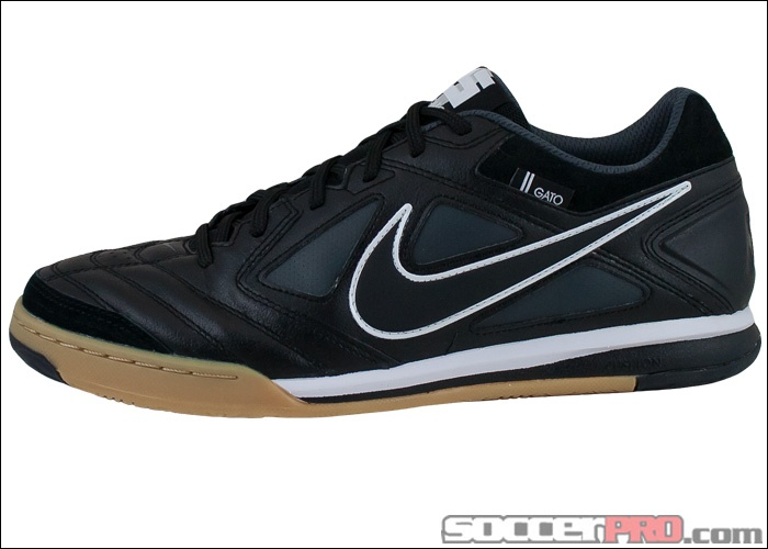 5aceaec2b9dd9 COM Find the leather Gato. Lifetime Returns on all Black Nike Gatos in  stock. Browse 89.99 - Buy your Nike FC247 Lunar Gato II Indoor Soccer Shoes  ...