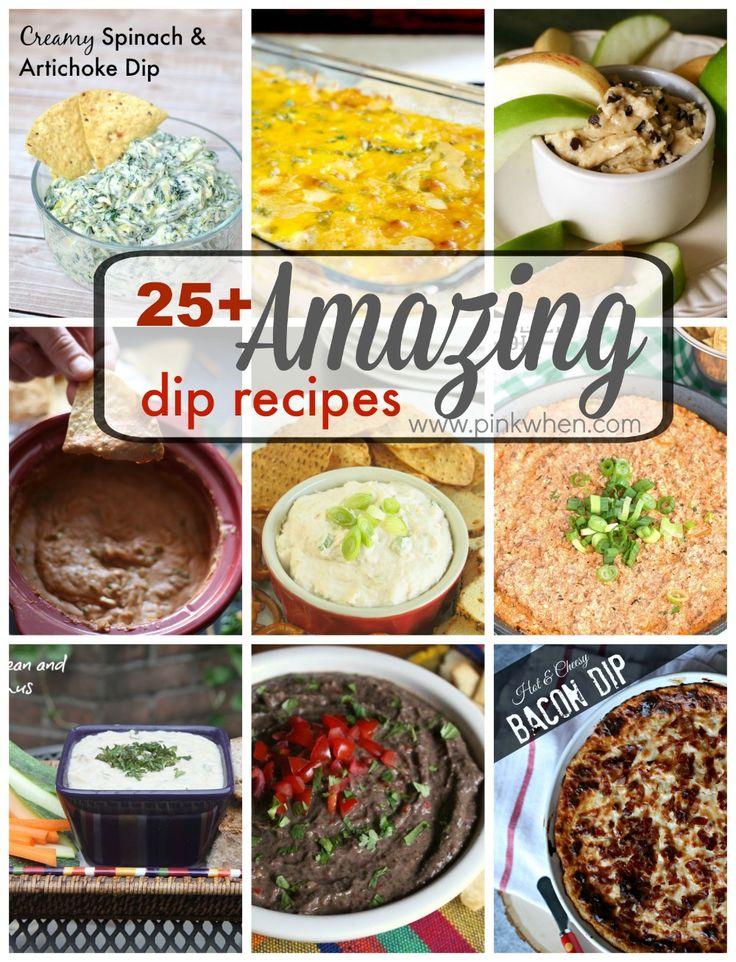 25+ Amazing Dip Recipes