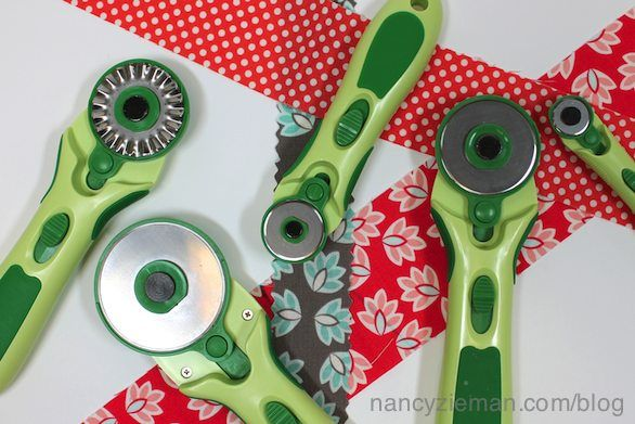 Here are a few of my favorite tips when it comes to using rotary cutters.