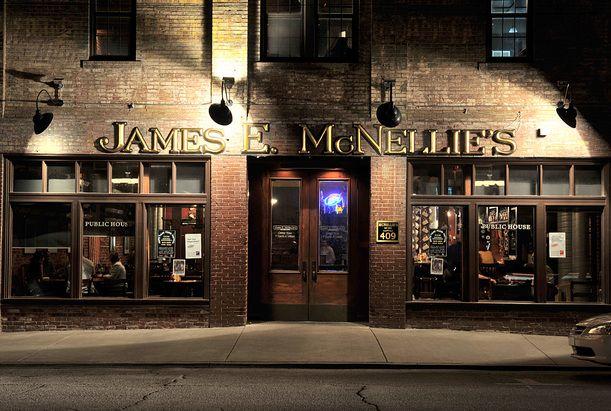 James E. McNellie's Public House 409 East 1st Street Tulsa, OK  My favorite Oklahoma pub!