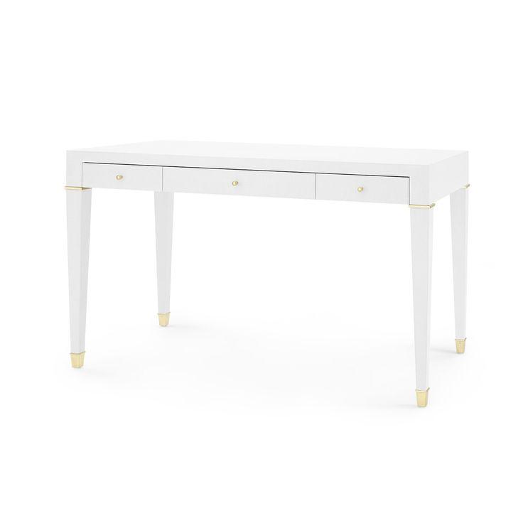 Claudette Desk, White - Bungalow 5