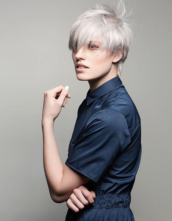 Haarkleuren trends winter 2015 2016: zilverblond, koperrood en melting colors - Kapsel trends winter 2015 2016 = Trendystyle, de trendy vrouwensite