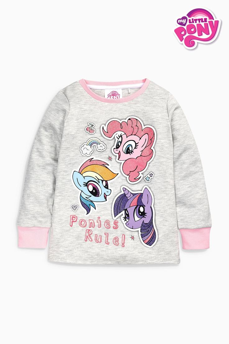 Buy Pink My Little Pony Pyjamas Two Pack (9mths-8yrs) from the Next UK online shop