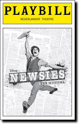 Newsies - seen at the Minneapolis Orpheum February 2016