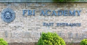 This is the entrance to the FBI Academy in Quantico, VA where my dad was trained. I went there on a tour last month!  I hope to get my training there someday!