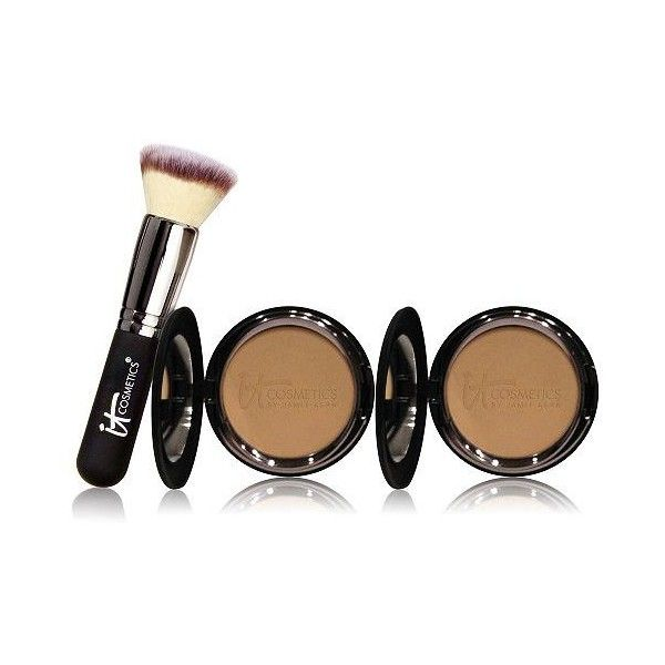 IT Cosmetics Supersize Celebration Foundation Auto-Delivery found on Polyvore featuring beauty products, makeup, face makeup, foundation, paraben free foundation, it cosmetics, it cosmetics foundation, mineral foundation and mineral powder foundation