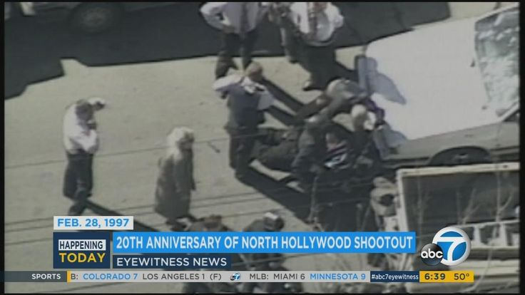 Tuesday marks 20th anniversary of North Hollywood shootout