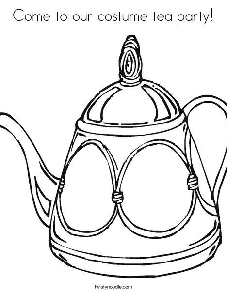 155 best coloring pages images on pinterest | drawings, coloring ... - Princess Tea Party Coloring Pages