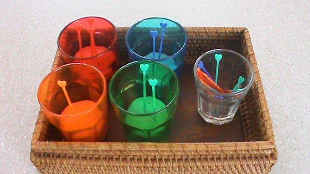 montessori color discrimination for 2 year old
