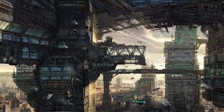 Future city: Digital Paintings, Concept Art, Khangl Design, Future Cities, Digital Art, Design Scifi, Art Galleries, Khang Le, Cities Digital