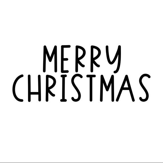 Merry Christmas Text Overlay Png Clip Art Quirky Berry Etsy Christmas Text Merry Christmas Text Merry Christmas