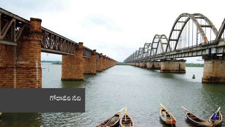 Telugu General Knowledge - Brief knowledge about Our rivers - Important ...