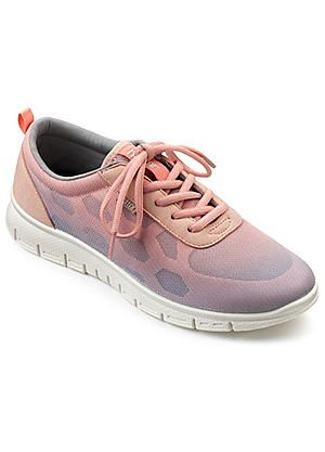 Hotter Lace Up Trainers #kaleidoscope #shoes