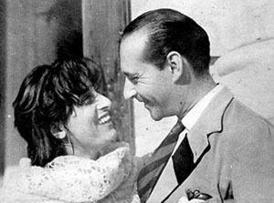 Anna Magnani e Roberto Rossellini, Roma 1947
