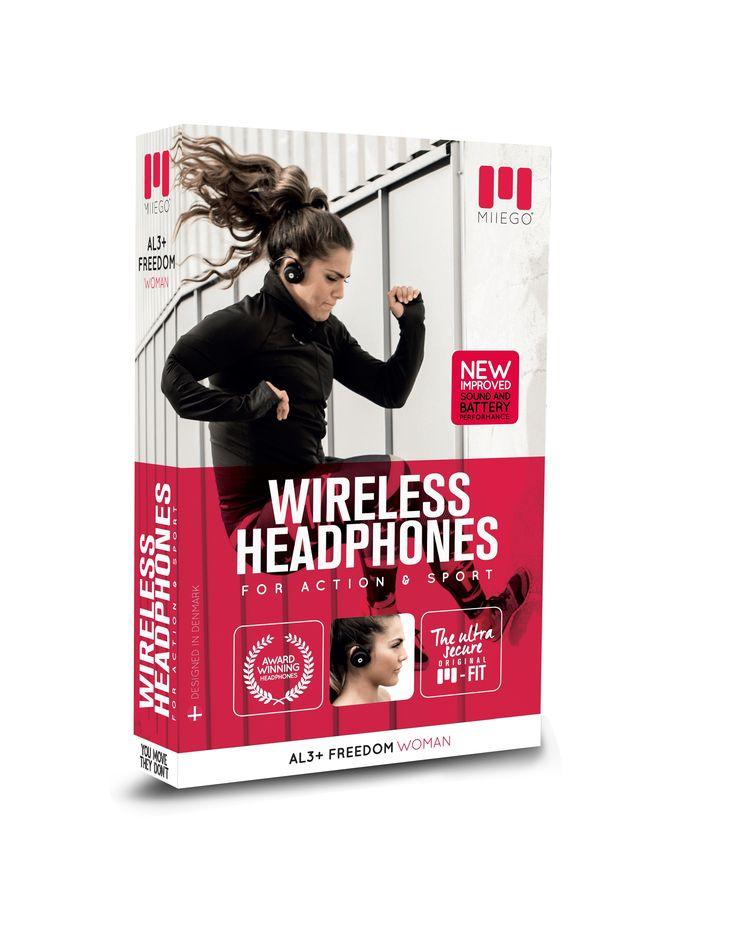 Miiego AL3+ Freedom on ear trådløse hodetelefoner til dame - Tights.no